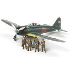 TAMIYA TAM61108 1/48 Mitsubishi A6M3/3A (Zeke) Plastic Model Airplane Kit