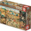 Educa 14831 - The Garden of Earthly Delights, Hieronymus Bosch - 9000 pieces - XXL Puzzle