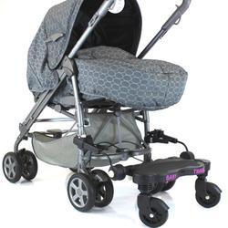 New Buggy Stroller PRAM Board to FIT Maxi-COSI LOOLA - Black/Pink