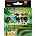 PowerPro Braid 275m (300yds) Hi-Vis Yellow 20lb (9kg) - 0.15mm