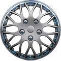 AUTOSTYLE PP9705CG Set wheel covers Missouri 15-inch chrome/gun-metal