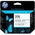 HP 771 - Printhead light grey, photo black