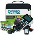 DYMO LabelManager 420P High Performance Rechargeable Portable Label Maker Kit, ABC Keyboard with 4 Rolls of D1 Labels & Carrying Case