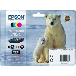 Epson C13T26364020 Ink Cartridge Black/Blue/Pink/Yellow