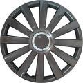 Set wheel covers Spyder 16-inch gun-metal + chrome ring