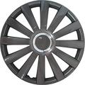 Set wheel covers Spyder 13-inch gun-metal + chrome ring