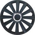 Set wheel covers Spyder 14-inch black + chrome ring