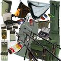 Deluxe Complete Full Carp Fishing Set up With Rods Reels Alarms Tackle & Bait