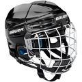 Bauer Ice Hockey Nit Prodigy Series for Kids Children's Ice Hockey Helmet with Protective Grate, Children's, Eishockeyhelm nit Schutzgitter PRODIGY-Serie für Kids, black, One Size