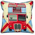 Anchor ALR76 Tapestry Kit: Cushion: Living: Red Bus on Union Jack, Multi, 40 x 40cm