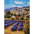 Grafitec Printed Tapestry/Needlepoint Kit – Lavender Fields
