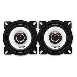 Alpine Car Speakers Peugeot 107 from 03/05 4 Inch 2-Way Coaxial 120 Watt