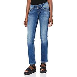 Pepe Jeans Women's Venus Straight Jeans, Denim (100Z Authentic Rope Str Med), 31W/32L
