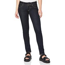 Pepe Jeans Women's New Brooke Jeans, Blue (10Oz Rinse Plus), 30W/30L