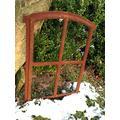 Antikas – Oskar 50x34 cm; Transom Window for Garden Sheds, Iron Stall Windows