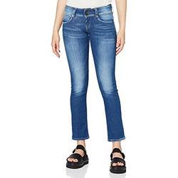 Pepe Jeans Women's Gen Jeans, Denim (10Oz Str 8Dip Royal Dk), 32W/32L