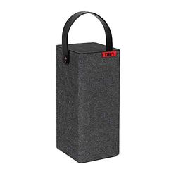 TIBO Choros Porta |Portable Wifi & Bluetooth Speaker | Multi Room Battery Powered Hi-Fi Speaker with Internet Radio for Home or Outdoor Use | Minimum 8 Hours Playback Time| Grey
