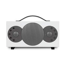 TIBO Sphere 2 | Portable Wi-Fi & Bluetooth Speaker | Multi Room Battery Powered Hi-Fi Speaker with Internet Radio for Home or Outdoor Use | Minimum 8 Hours Playback Time | White
