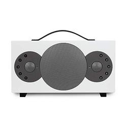 TIBO Sphere 4   Portable Wi-Fi & Bluetooth Speaker   Multi Room Battery Powered Hi-Fi Speaker with Internet Radio for Home or Outdoor Use   Minimum 8 Hours Playback Time   White
