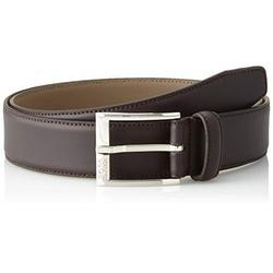 BOSS Men's Ellotyo_sz35 Belt, Brown (Dark Brown 202), 38 (Size: 85)