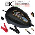 BC Battery Controller BC BRAVO 2000+, Caricabatteria e Mantenitore Digitale/LCD, Tester di Batteria e Alternatore per tutte le Batterie Auto e Moto 12V Piombo-Acido, 2 Amp