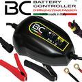 BC Battery Controller BC K612, Caricabatteria e Mantenitore intelligente per tutte le batterie Auto e Moto (anche Veicoli Storici) 6V/12V Piombo-Acido, 1A