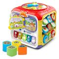 VTech Sort & Discover Baby Activity Cube, Baby Play Centre, Educational Baby Musical Toy with Shapes Sorting, Sound Toy with Different Music Styles for Babies & Toddlers From 9 Months+, Boys & Girls