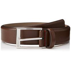 HUGO Men's Gellot_sz35 Belt, Brown (Dark Brown 202), 42 (Size 95|#675)