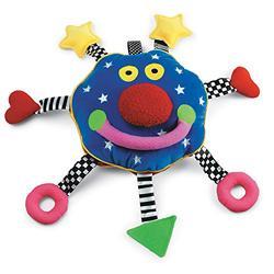 Manhattan Toy Whoozit Rattle and Squeaker Sound Developmental Baby Toy