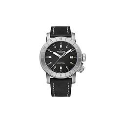 Glycine Airman 42 Double Twelve Mens Analogue Automatic Watch with Leather Bracelet GL0063