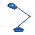 Lampada da tavolo e comodino in metallo blu HELMAND