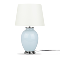 Lampada da tavolo in ceramica in color azzurro BRENTA