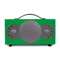 TIBO Sphere 4   Portable Wi-Fi & Bluetooth Speaker   Multi Room Battery Powered Hi-Fi Speaker with Internet Radio for Home or Outdoor Use   Minimum 8 Hours Playback Time   Green
