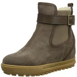 Aigle Women's Chelswarm Chelsea Boots, Brown (Taupe 001), 4 UK