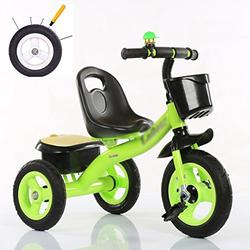 &Baby Pushchair Baby Tricycle, Convertible Pedal Trike Push Bike Easy Steer Tricycle Stroller Toy Car (Color : B)