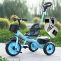 &Baby Pushchair Baby Tricycle, Convertible Pedal Trike Push Bike Easy Steer Tricycle Stroller Toy Car (Color : I)