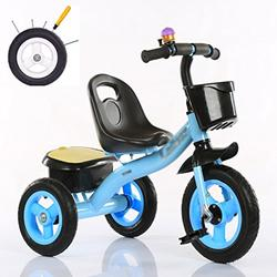 &Baby Pushchair Baby Tricycle, Convertible Pedal Trike Push Bike Easy Steer Tricycle Stroller Toy Car (Color : C)