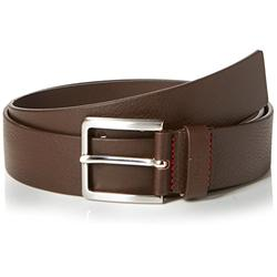 HUGO Men's Gionios_sz40 Belt, Brown (Dark Brown 202), 38 (Size 85|#673)