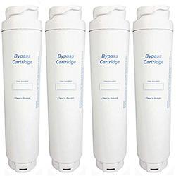 Siemens Genuine Internal Fridge Water Particle Filter Bypass Cartridge 643046 (Pack of 4)