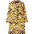 Velvet Loden Coat - Yellow - LaDoubleJ Coats