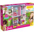 Liscianigiochi Barbie Dream House Pretend Play Doll House Two - Storey Villa, Arrange Furniture And Decorate With 3d Stickers