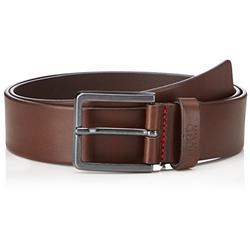 HUGO Men's Gionio SZ40 Belt,Brown (Dark Brown 202),UK 110