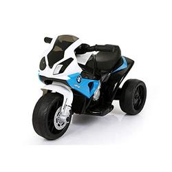 Trackpack Limited RICCO BMW Blue Licenced Motorcycle 6V 4.5A 35W Battery Powered Kids Electric Ride On Toy