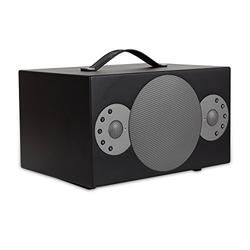 TIBO Sphere 6   Portable Wi-Fi & Bluetooth Speaker   Multi Room Battery Powered Hi-Fi Speaker with Internet Radio for Home or Outdoor Use   Minimum 8 Hours Playback Time   Black