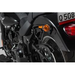 SW-Motech SLC portante laterale a sinistra - Harley Davidson Softail modelli.