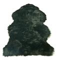 Hanlin Hides - Black Luxury Sheepskin Rug - Black