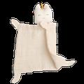 FABELAB - Unicorn Face Baby Animal Cuddle Baby Comforter - Natural