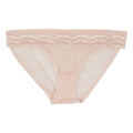 Lulu's Drawer - Powder Pink Leah Low Panty - L - Pink