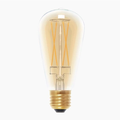 Segula - Vintage Line 6W Dimmable E27 Golden Glass Rustica LED Bulb - Gold/Glass