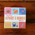 Warings Lifestore - Stacking Alphabet & Number Blocks - Pink/Yellow/Blue